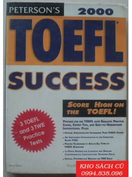 Peterson's Toefl Success 2000