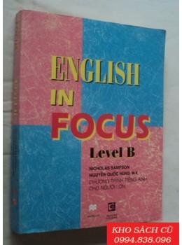 English In Focus Level B
