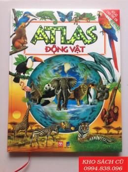 Atlas Cho Trẻ Em - Atlas Động Vật (Bìa Cứng)