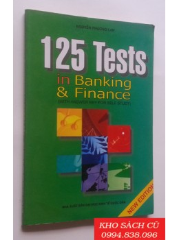 125 Tests In Banking & Finance (With Answer Key For Self Study)