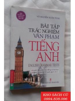 Bài Tập Trắc Nghiệm Văn Phạm Tiếng Anh