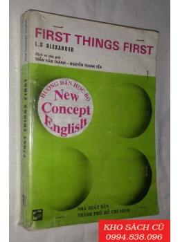 New Concept English - First Things First