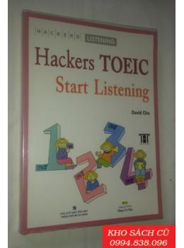 Hackers Toeic Start Listening (Kèm 1 CD MP3)