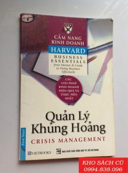 Cẩm Nang Kinh Doanh - Quản Lý Khủng Hoảng