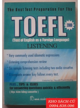 The Best Test Preparation For The Toefl Listening