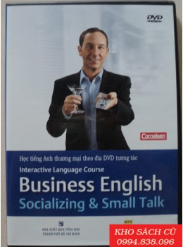 Business English: Socializing & Small Talk (Gồm 1 Sách và 1 DVD)