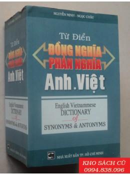Từ Điển Đồng Nghĩa Phản Nghĩa Anh Việt