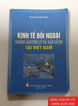 Kinh Tế Đối Ngoại Những Nguyên Lý Và Vận Dụng Tại Việt Nam