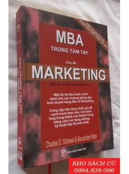 MBA Trong Tầm Tay - Chủ Đề Marketing (Bìa Cứng)