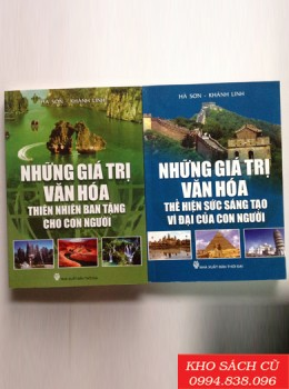 Combo Những Giá Trị Văn Hóa (2 Cuốn)