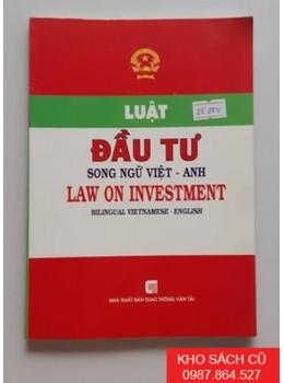 Luật Đầu Tư Song Ngữ Việt Anh