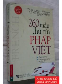 260 Mẫu Thư Tín Pháp Việt