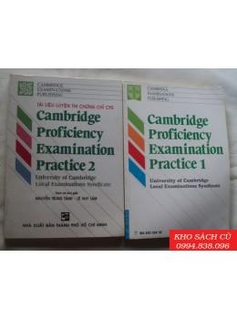 Cambridge Proficiency Examination Practice