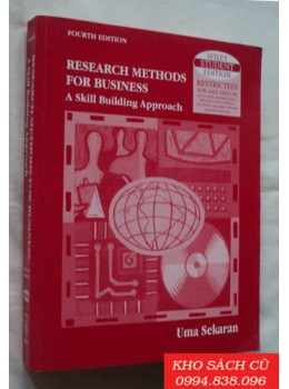 Research Methods For Business  - A Skill Building Approach