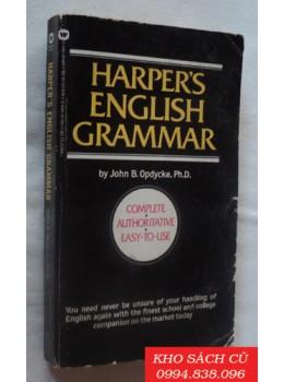 Harper's English Grammar