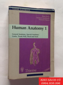 Human Anatomy 1, General Anatomy, Special Anatomy: Limbs, Trunk Wall, Head and Neck (Thieme Flexibook)