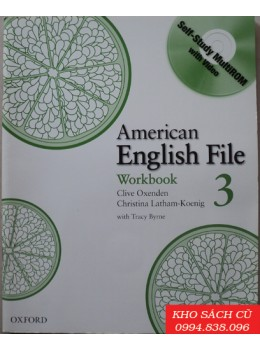 American English File 3 Workbook with MultiROM