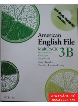 American English File 3B Student Book/Workbook Multipack