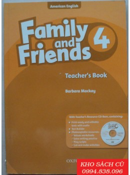 Family and Friends 4 Teacher's Book and CD-ROM Pack AmEd