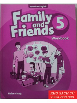 Family and Friends 5 Workbook AmEd