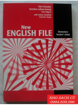 New English File Elementary Teacher's Book