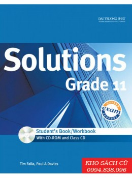 Solutions Grade 11 Student's Book/Workbook (w/CD+CDRom)