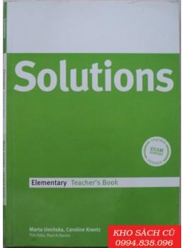Solutions Elementary Teacher's Book
