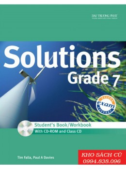Solutions Grade 7 Student's Book/Workbook (w/CD+CDRom)