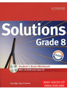 Solutions Grade 8 Student's Book/Workbook (w/CD+CDRom)