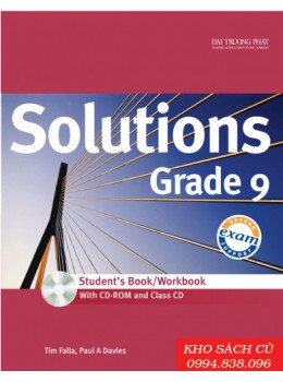 Solutions Grade 9 Student's Book/Workbook (w/CD+CDRom)