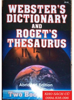 Webster's Dictionary And Roget's Thesaurus