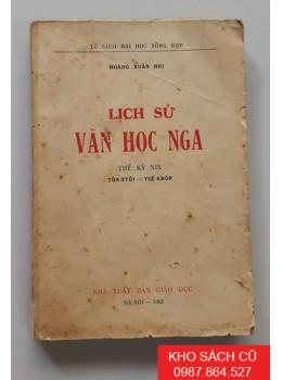Lịch Sử Văn Học Nga (Thế Kỷ XIX)