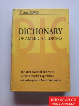 Dictionary Of American Idioms (Bìa Cứng)