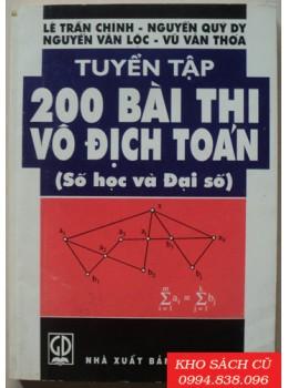 Tuyển Tập 200 Bài Thi Vô Địch Toán